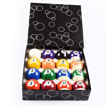 China Factory Supply best seller Standard Billiard Ball/Pool Ball Set complete 16balls