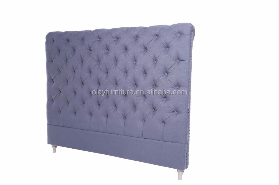 French King Size Headboard Hotel Upholstered Tufted Headboards