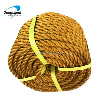 Golden Brown Color Pp Rope/polypropylene Rope For Philippines Market - Buy  Polypropylene Rope 16mm,8mm Polypropylene Rope,Polypropylene Mooring Rope