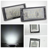 2002 E46 LED license lamp 2003 E46 LED number plate lamp for E46 M3/2D 98-03 Pre-facelift (Not fit Convertible)