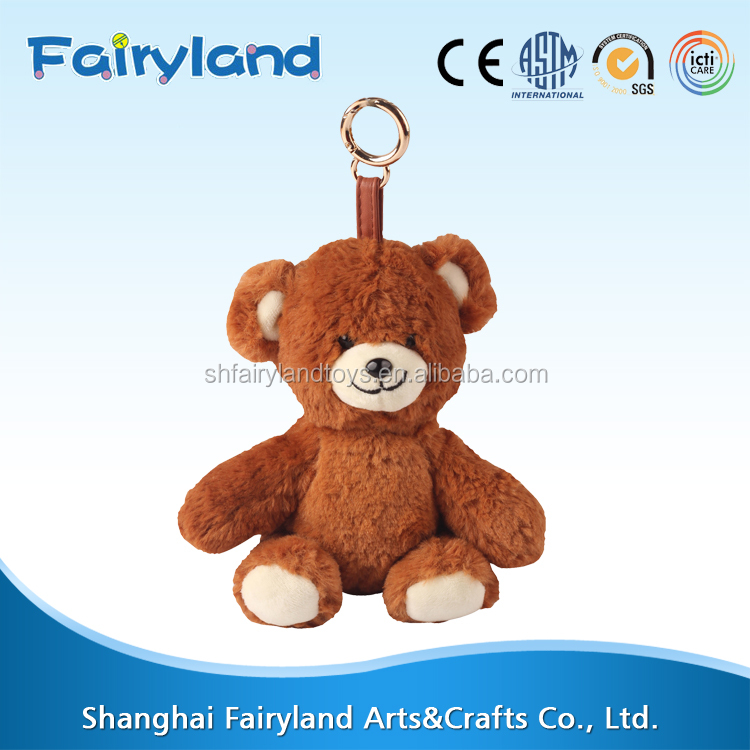 Top consumable products Keychain Bear plush toy goods from china