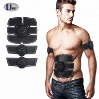 Popular abdominal muscle trainer with muscle training belt electric vibrating slimming massager