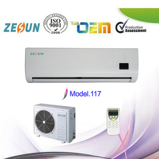 Home Appliance Portable Split Wall Type Gree Room Air Cooler Conditions,220V/50Hz 18000BTU,Daikin Air Conditioner Compressor