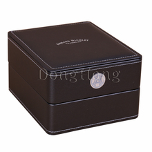Manufacturer custom luxury watch packaging leather gift box