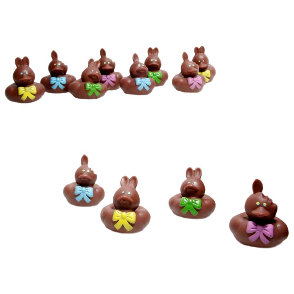 Cheap easter gifts chocolate find easter gifts chocolate deals on get quotations chocolate easter bunny rubber ducks negle Images