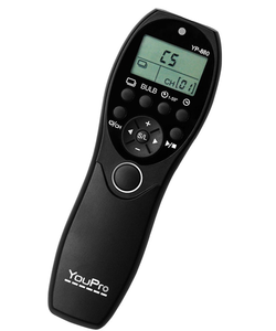 YouPro 880/DC2 wired Timer Remote shutter for NIKON D90 D7000 D5100
