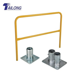 Road Safety Pipe Railing Design/Guard Barrier/Mild Steel Handrail