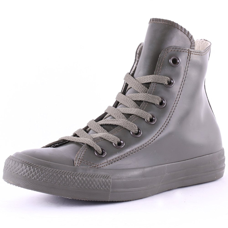 54d26e42452115 Get Quotations · Converse Unisex Chuck Taylor Rubber Rain Boot Sneaker  Pineneedle Green