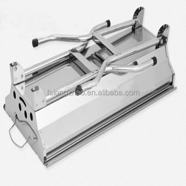Stainless steel grill Barbecue Shiny glossy Foldable BBQ Grill