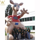 Outdoor advertising inflatable balloon, inflatable kangaroo model for sale