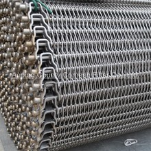 Stainless steel wire mesh conveyor belt for food industry