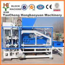 20 Years Factory price hollow cement soil fly ash automatic concrete block brick making machine price QT4-18