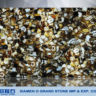 translucent agates golden and black artificial stone slabs