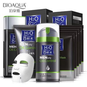 Wholesale Bioaqua Man's Moisturizing Oil Control Cleansing Skin Care Suit For Man