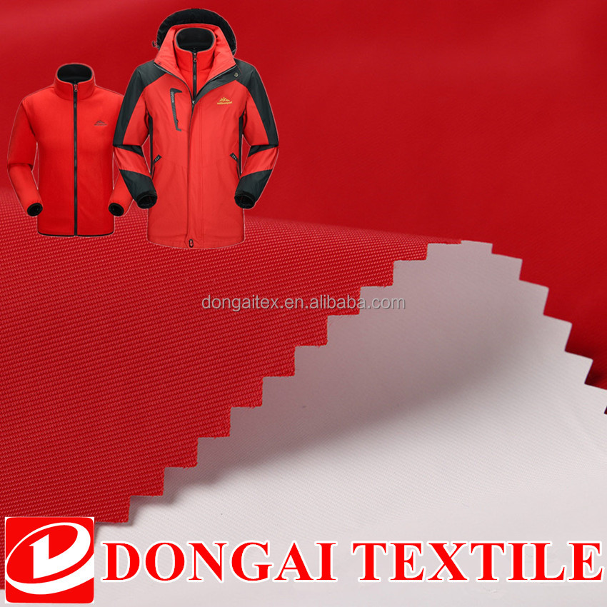 100% twill nylon waterproof dry fit sportswear fabric