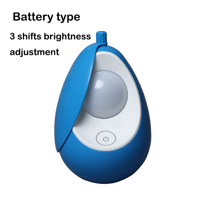 led tumbler shape touch switch baby bright night light