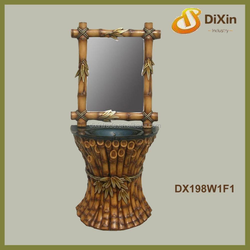 barato antigua china bao muebles de bamb mueble de bao