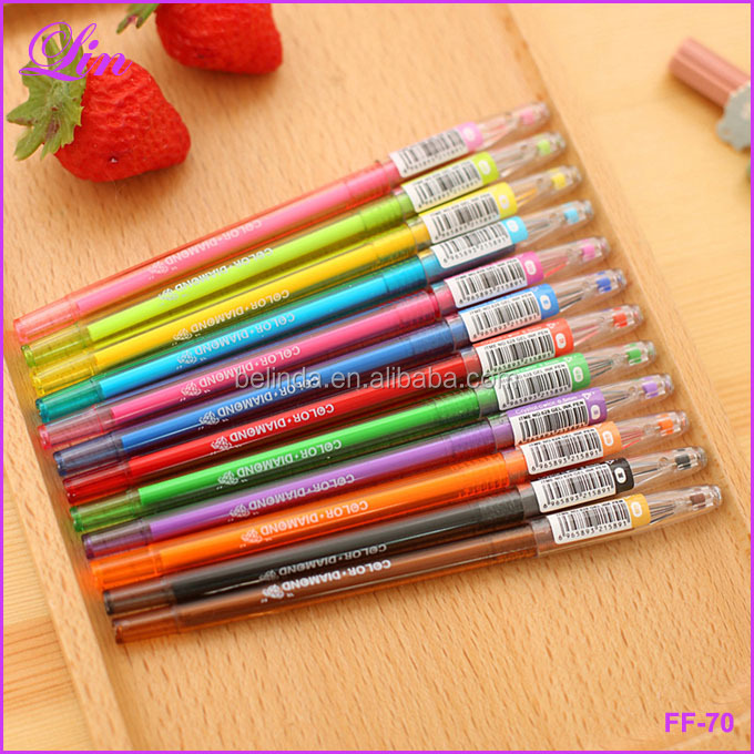 Free Shipping by DHL/FEDEX/SF gel pen <strong>school</strong> supplies boligrafos pilot pens