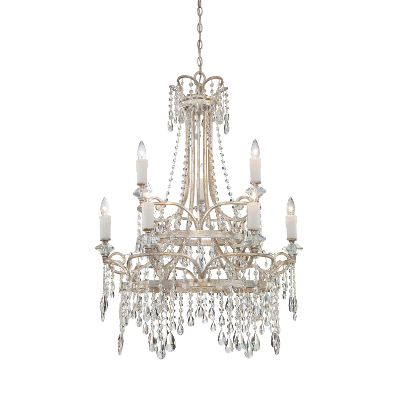 New crystal dropping modern crystal lampe handmade decorative chandelier