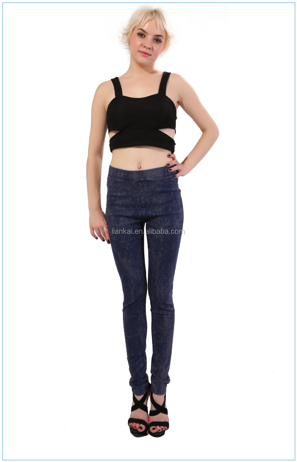 2015 Women Jeans Slim Fit Waist Jeans Sexy Skinny Jeans Girls ...