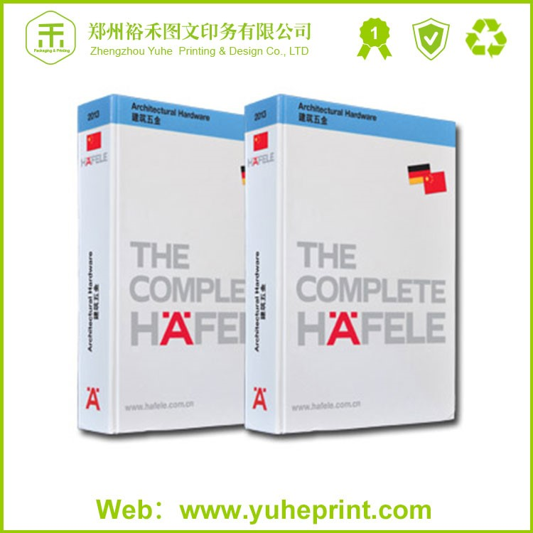 Product operating manual printing service wholesale colorful A4 size recycled paper manual