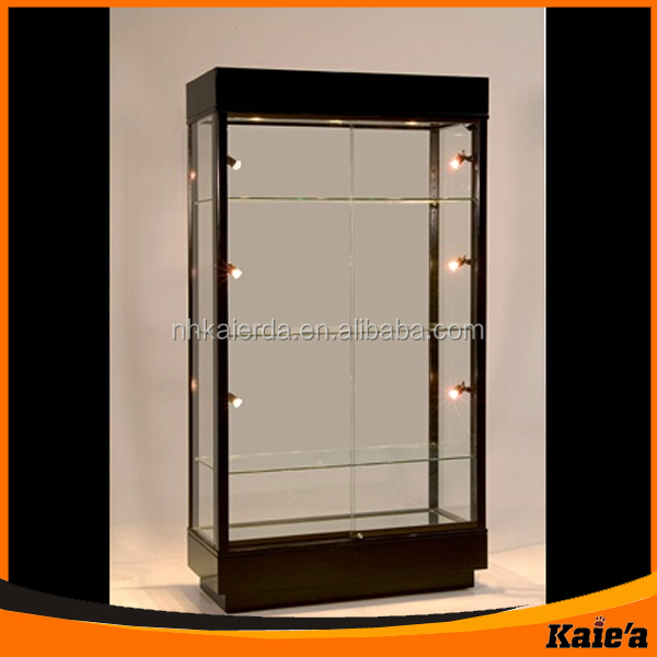 Design Wood Glass Wall Showcase In Kaierda Buy Wood