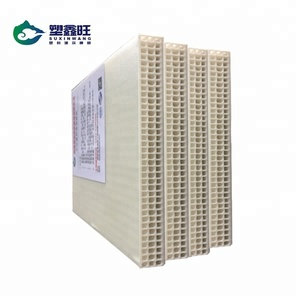 High construction efficiency material hollow plastic concrete forms
