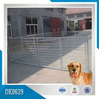 Factory Manufacturer Large Outdoor Galvanized Strong Steel Dog Kennel, Dog Cage