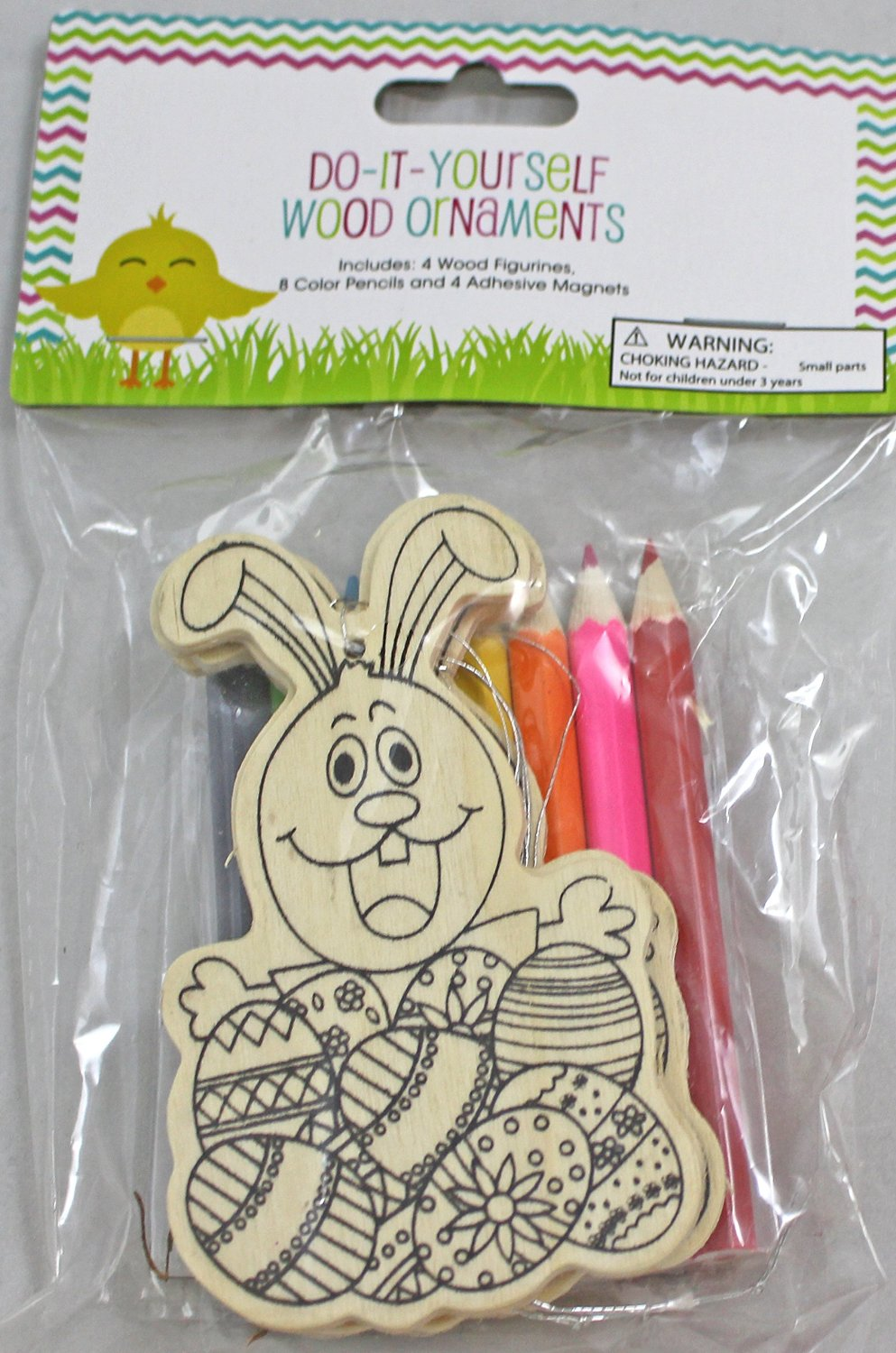 Buy nantucket home do it yourself easter bunny wood ornaments kit nantucket home do it yourself easter bunny wood ornaments kit set of 4 solutioingenieria Gallery