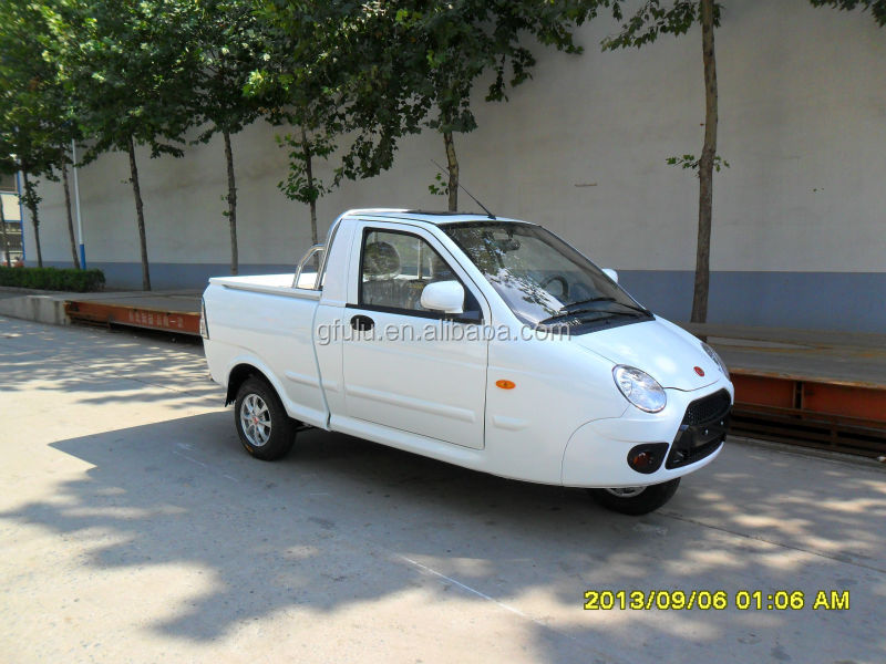 Mini Three Wheel Pickup Truck With Eec Certification Fashionable Design China Product On Alibaba
