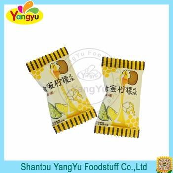 Halal Candy Individual Sweet Honey Lemon Candy Buy Honey Lemon