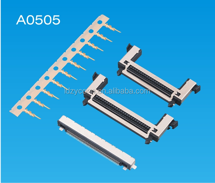 high quality UL proved 0.5mm 51p wire to board replaces of JAE FI-RE51CL connector