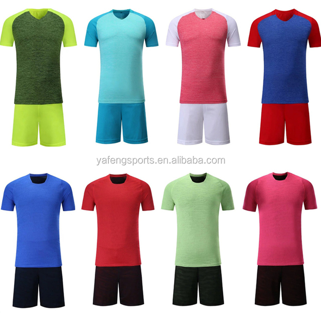 9e043d73def custom colorful china cheap football teams t shirts wholesale sublimated blank  soccer jersey