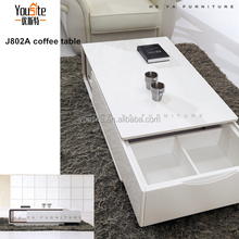 malaysia furniture l shaped coffee table J802A