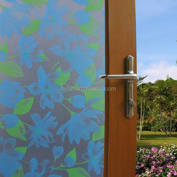 2d printing mosaic pvc decorative window glass film self adhesive glass film