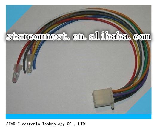 KUBOTA 9 Pin Install radio Wire harness kubota 9 pin install radio wire harness connector buy kubota 9 kubota radio wiring harness at mr168.co