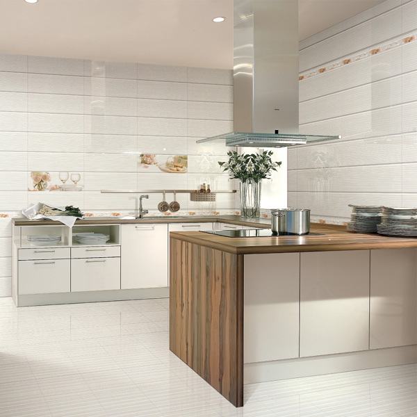 Kitchen Wall Tiles Types: Foshan 300*600 Restaurant Kitchen Ceramic Wall Tile