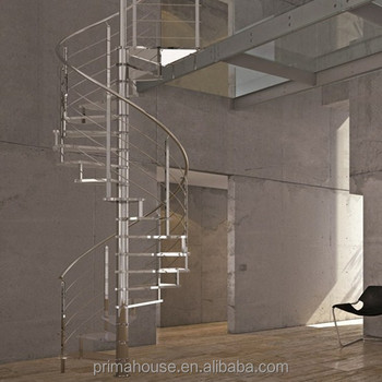 Cast Iron Spiral Staircase / Building Spiral Staircase/stairs Made In Pure  Stainless Steel