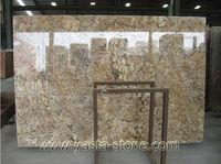 Brazil High Quality Cheap Golden Persa Granite Slab
