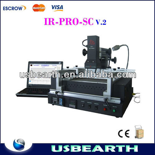 2015 new hot bga repair machine IR-PRO-SC V.2 Dark IR BGA rework station LY IR PRO SC V.2