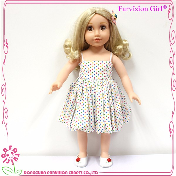 Factory price 18 inch cheap doll clothes for American girl