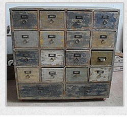 Wholesales Vintage Used wooden Chest of Drawers Antique French country style living room furniture