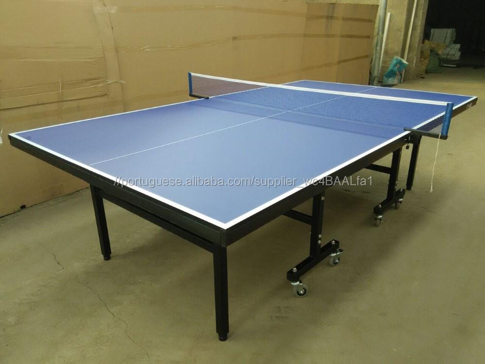 72e572966 Profissional-qualidade Ténis de Mesa Ping Pong Jogo Interior Quarto Mesa  Dobrável Portátil