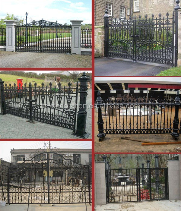 Main Gate Colors Wrought Iron Door Inserts Sliding Iron Main Gate ...