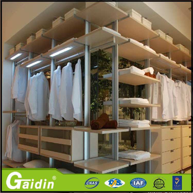 Hotel Supermarket Aluminium Profile Walkin Closet Built In Wardrobes Closet  Buy Wholesale From China Diy Pole Wardrobe   Buy Diy Pole ...