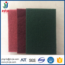 Industrial Abrasive nylon scouring pad for wood and metal