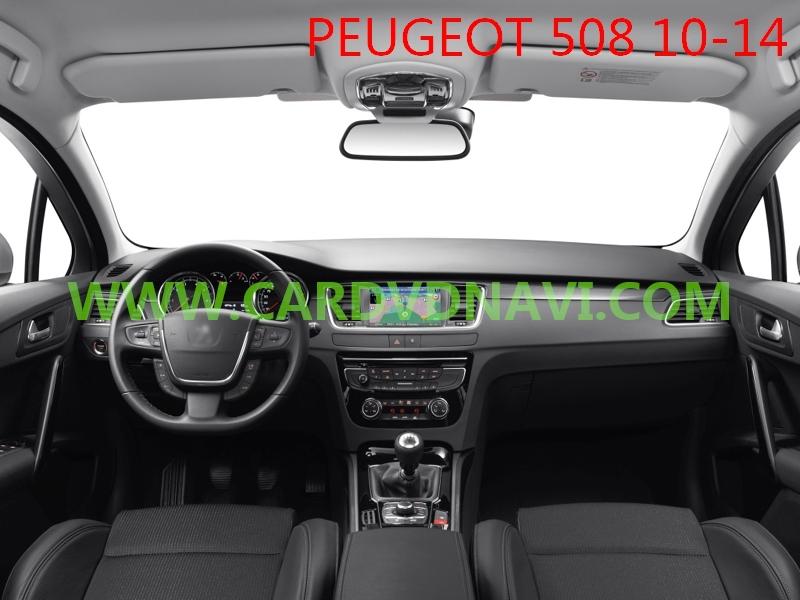 Video Interface Peugeot 208 2012-2015 Rt6 W/ Camera Reversing ...