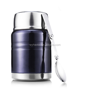Stainless steel keep hot 24 hours thermos hot pot lunch box