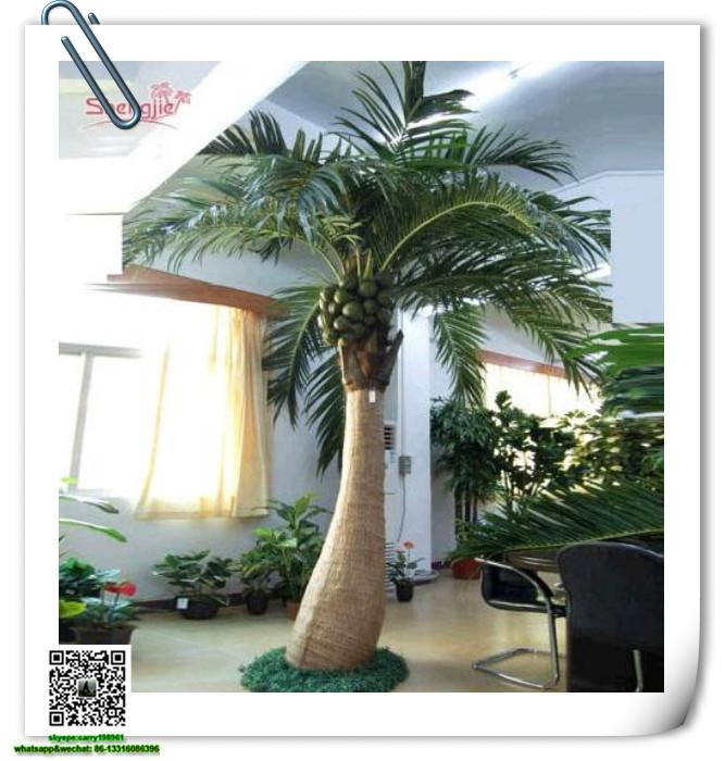 sjyzs 03 large outdoor bonsai trees artificial coconut palm tree wholesale bonsai buy bonsai. Black Bedroom Furniture Sets. Home Design Ideas