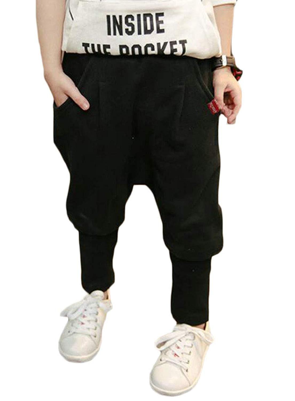 Macondoo Men Drawstring Trousers Casual Outdoor Jogging Mid Waist Pants